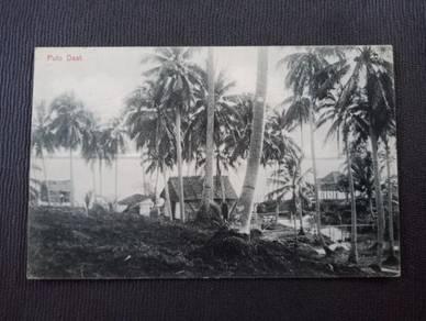 Postcard PULAU DAAT Labuan 1912 PX247