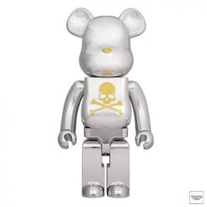 Bearbrick x Mastermind Japan Chrome 1000%
