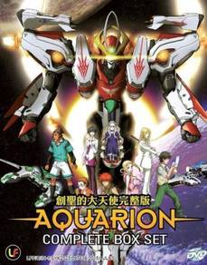 DVD ANIME Aquarion Complete Box Set