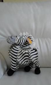 Madagascar 3 marty the zebra soft toy 12