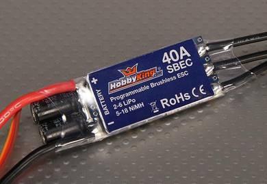 HobbyKing 40A BlueSeries Brushless Speed Controlle