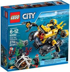 LEGO 60092 Deep Sea Submarine