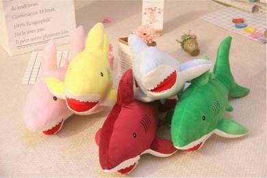 Bantal Lembut Ikan Baby Shark Viral Soft Toy BARU