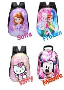 3d hard case cartoon bag / beg sekolah 03