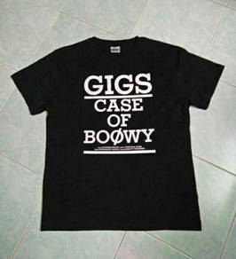 T Shirt Band Boowy Japan