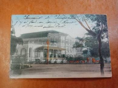 Postcard Hotel Raffles 1918 PX253