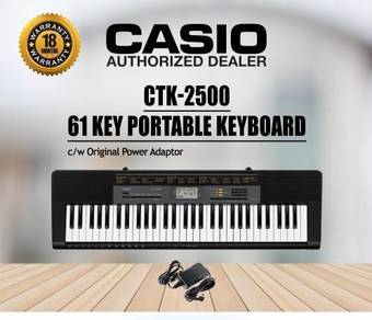 CASIO CTK-2500 Keyboard Piano