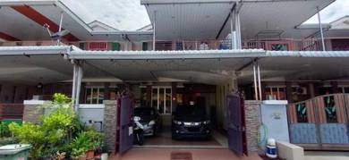 Double Storey Terrace Taman Seri Saujana Nibong Tebal For Sale