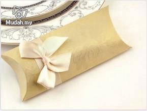 Wedding Gifts - Ivory Pillow Box