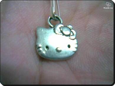 ABPSM-C012 Silver Cat Hello Kitty Pendant Necklace
