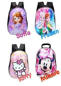 3d hard case cartoon bag / beg sekolah 01