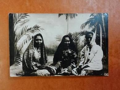 Postcard Malay Women 1932 PX250