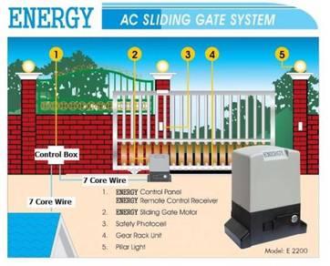 E8 E2200 Energy Ac Autogate