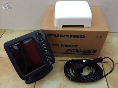 New Furuno Fcv 688 COLOR LCD Fish Finder/Sonar