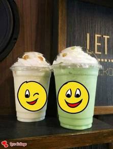 Iceblended greentea