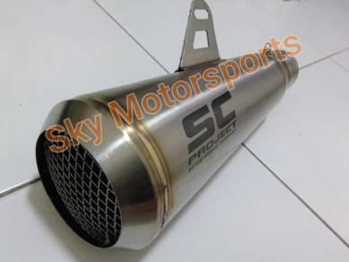 Exhaust Muffler Ekzos S C Moto GP style 51mm