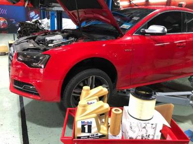 Audi vw engine oil service maintenance MOBIL