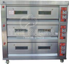 Baker Gas Oven 3 Layer 9 Tray