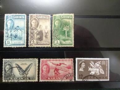 Sarawak Old Stamps King George VI