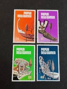 Papua New Guinea 1979 Canoe Prows No 3071