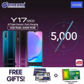 VIVO Y17 (4GB RAM | 64GB ROM) + Hadiah 🎁