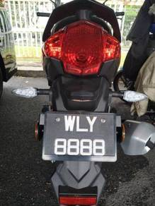 Plat number CANTIK - WLY 8888
