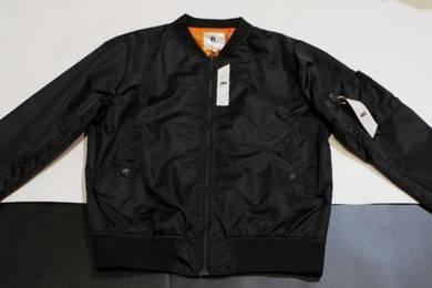 Bomber jacket blk