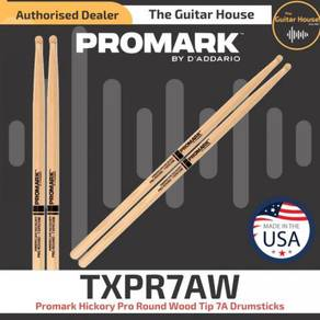 Promark TXPR7AW Hickory Pro Round Wood Tip 7A