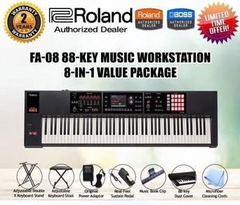 ROLAND FA-08 Workstation Keyboard Piano