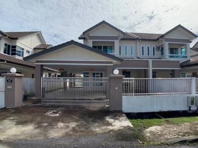 Double Storeys Semi Detached at Jalan Armeria, Luak