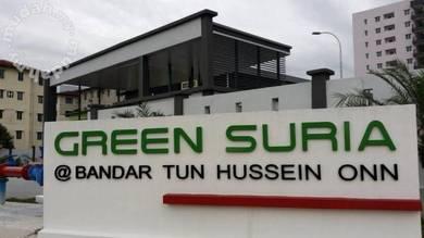 Green Suria Apartment,Bandar Tun Hussein Onn,Cheras, balakong near MRT