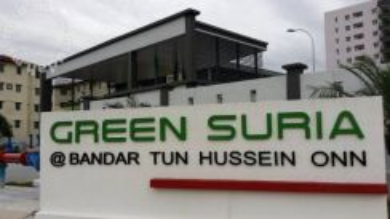 Title: Green Suria Apartment, Bandar Tun Hussein Onn, Cheras near MRT