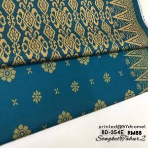 Kain Cotton Songket Printed BD-354E