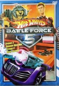 DVD ANIME Hot Wheels Battle Force 5 Vol.3 & 4