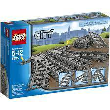 LEGO City Switch Tracks 7895 Train