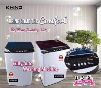 New-KHIND 8.0KG Fully auto washing machine