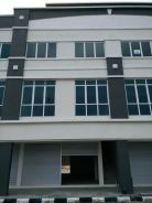 2nd floor with two rooms at kidurong hill to be rented