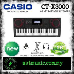 Casio CT-X3000 ctx3000 Keyboard Pack