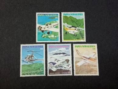 Papua New Guinea 1981 Aviation No 3074