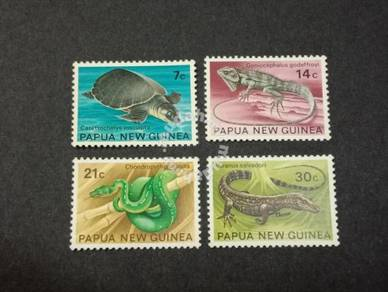 Papua New Guinea 1972 Reptiles No 3082