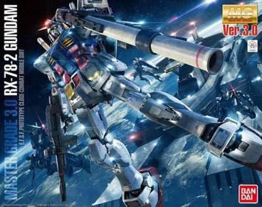 Bandai 1/100 MG Gundam RX-78-2 Ver. 3.0 figure