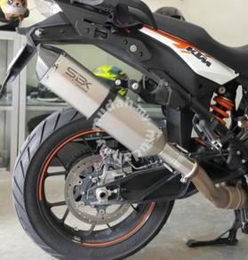 Ekzos KTM Adventure 1050 SBK Dual Purpose exhaust