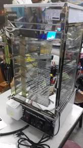 Electric 5 Level Glass Display Pao Steamer TM355