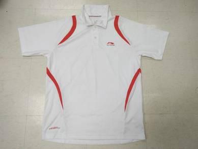 Li ning sport shirt kolar poliyester