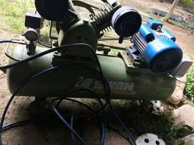 Mencari air compresor terpakai