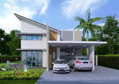 New Modern Design, Single Storey Bungalow, Beranang, link Toll Lekas