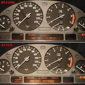 BMW E39 E38 E53 Instrument Cluster MID Repair