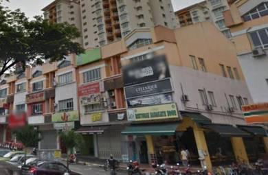 Wangsa Maju Setapak 3 Sty Shop Lot Corner Unit Fully Tenanted High ROI