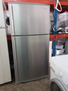 Besar Refrigerator Big Hitachi Peti Sejuk Ais Ice