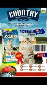 Country Sabina Premium Cat food 2kg